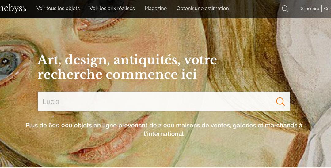 Barnebys.fr : Art, design et  antiquités