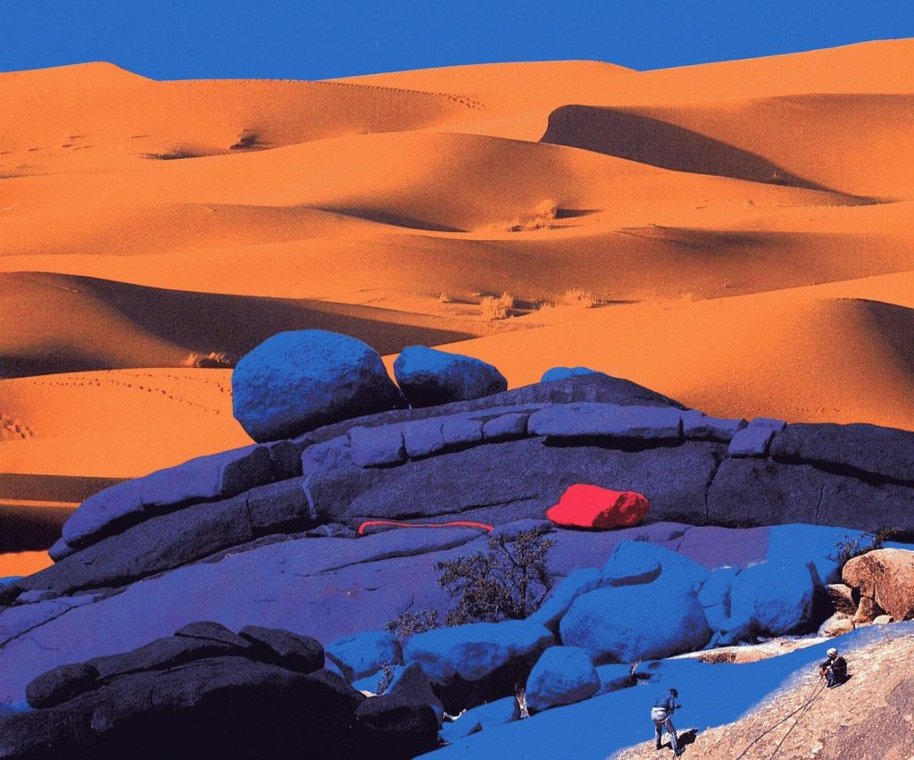 JEAN-VERAME-Anti-Atlas près de Tafraout_Maroc_1984_© Manuel Litran