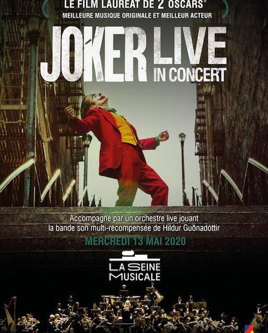 JOKER en ciné concert à la Seine Musicale