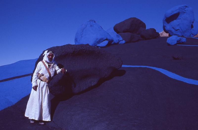 Désert du Sinaï_Egypte_1980-1981_© Jean-Claude Francolon