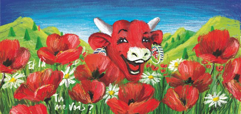 « Cache-cache avec La Vache qui rit » La pop'installation qui trompe l'œil à la Maison de la Vache qui rit - zenitudeprofondelemag.com
