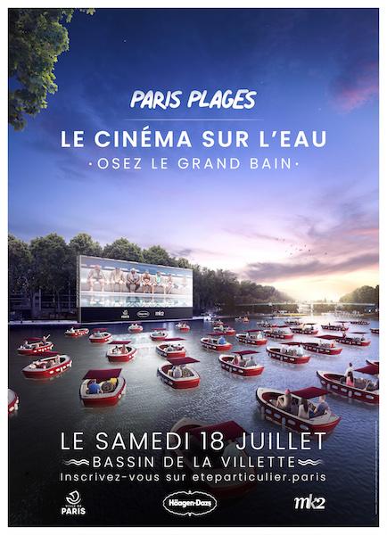 PARIS PLAGES – LE CINEMA SUR L'EAU – OSEZ LE GRAND BAIN