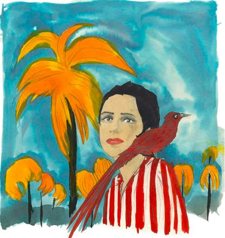 Marcel Dzama, Blue Moon of Morocco, Galerie David Swirner Paris, zenitudeprofondelemag.com