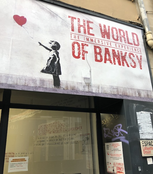 THE WORLD OF BANKSY à l'ESPACE LAFAYETTE DROUOT