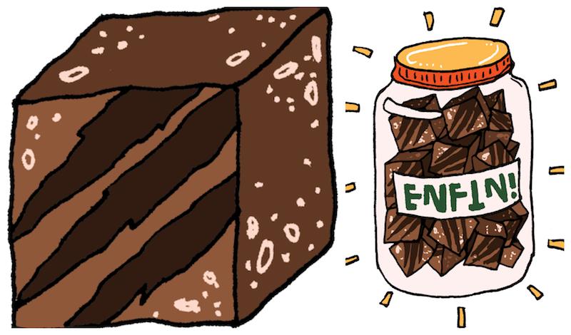 Les snacks Baghera une alternative vegan aux barres chocolatées.