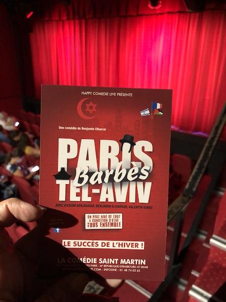 PARIS, BARBÈS, TEL-AVIV …vous imaginez le délire?