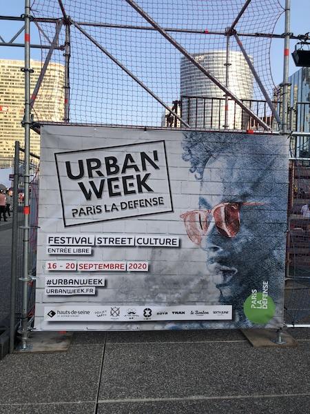 Retour sur l'Urban Week de Paris La Défense…