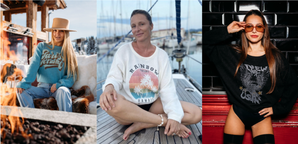 The two of us Courchevel - Fabulous island la  marque eco responsable qui symbolise un certain art de vivre