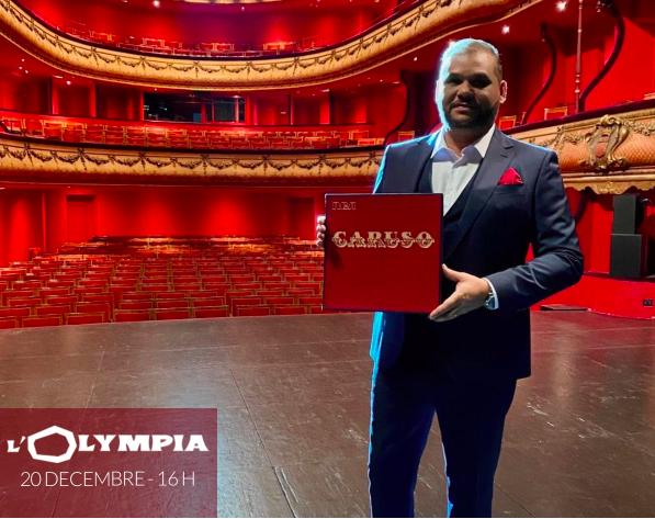 Il sera le Premier Artiste en Concert avec public à L'Olympia pour la réouverture de la mythique salle parisienne