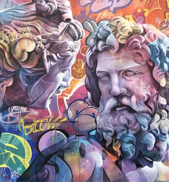LE DUO D'ARTISTES ESPAGNOLS PICHIAVO INVESTIT LE BOUL'MICH