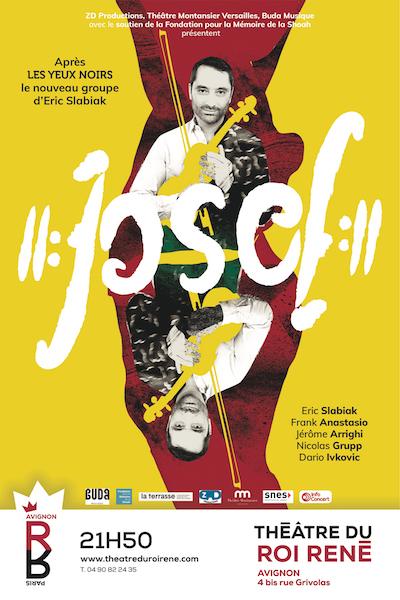 JOSEF JOSEF investit le Théâtre du Roi René du 7 au 31 Juillet 2021