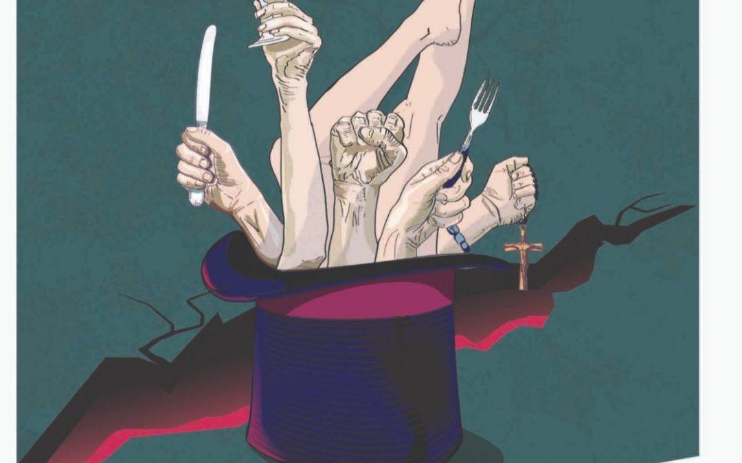 ODIEUX FESTIN ! de L.J Wagner. Une tragi-comédie sur fond de fin du monde