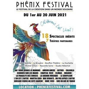 PHÉNIX FESTIVAL À PARIS DU 1ER AU 20 JUIN 2021