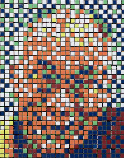 INVADER - Rubik's Dalai Lama - zenitudeprofondelemag.com