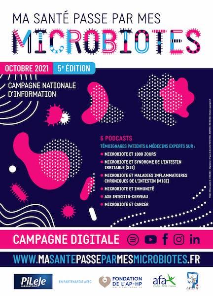 5ème édition de la campagne nationale : MA SANTÉ PASSE PAR MES MICROBIOTES