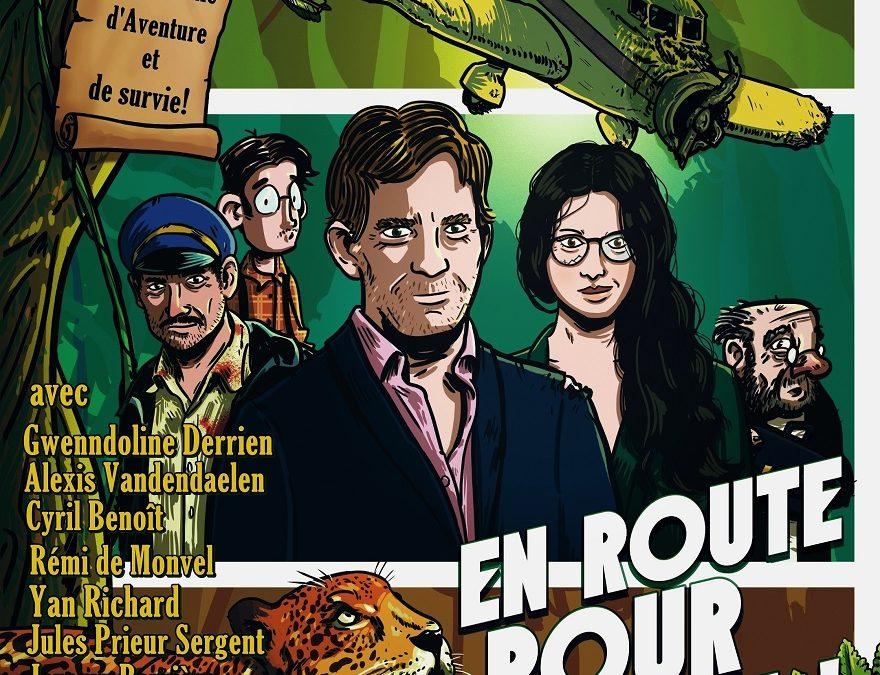 EN ROUTE POUR L'AVENTURE de Marina Gauthier au Théâtre Montmartre Galabru