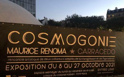 L'EXPOSITION COSMOGONIE – Maurice RENOMA & Jorge Luis CARRACEDO à l'ESPACE NIEMEYER